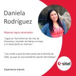 Historias de Vida SITEL – Daniela Rodriguez