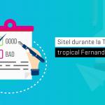 """Sitel durante la Tormenta Tropical """"Fernand"""""""